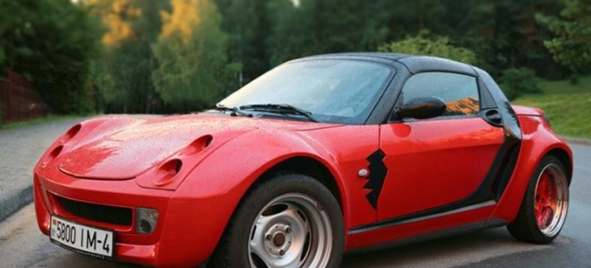 Вы спрашивали – обзор модели Smart Roadster