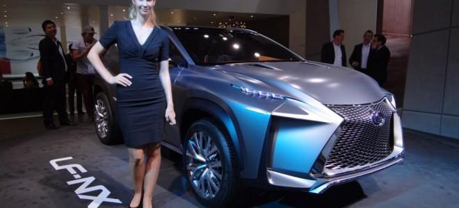 Японцы создали новый Lexus LF-NX Concept