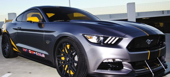 Спорткар Mustang в «авиационном» стиле от компании Ford