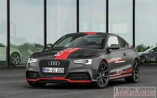 Концепт дизельного Audi RS5 TDI 2014 мод. года видео