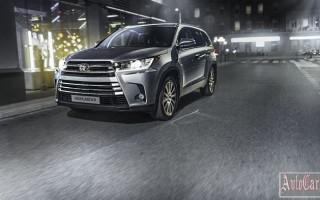 Дан старт продаж обновленной модели Highlander от Toyota