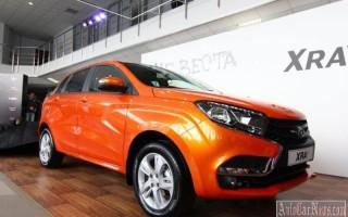 Началась продажа хэтчбека XRAY – цена других моделей Lada возросла