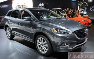Обновленная модель — внедорожник 2013 Mazda CX-9