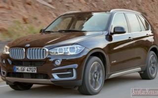 Объявлена цена BMW X5 2014 для рынка России