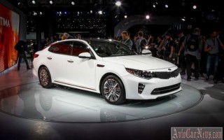 Нью-Йорк 2015 – новый sedan Kia Optima IV-поколения