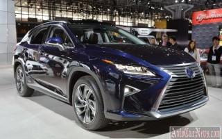 Нью-Йорк 2015 – кроссовер Lexus RX IV-поколения