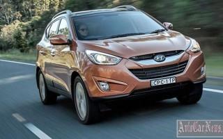 Корейцами снижена цена на кроссовер Hyundai ix35