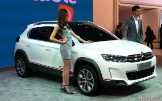 Пекин 2014 – new crossover Citroen C-XR Concept 2015