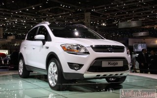 Кроссовер 2013-2014 Ford Kuga II-поколения обзор