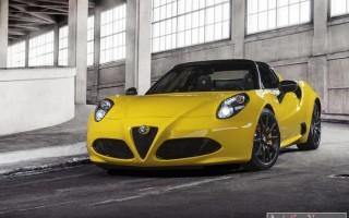 Детройт 2015: кабриолет Alfa Romeo 4C Spider