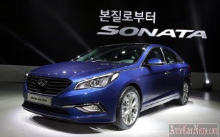 Новые двигатели получит sedan Hyundai Sonata 2015 мод.года