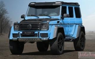 Тюнинг ателье Mansory доработало самый экстремальный Mercedes