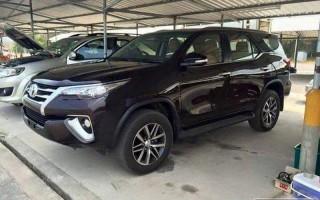 Компания Toyota подготовила к презентации новый внедорожник Fortuner