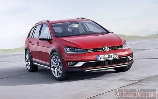 Универсал 2015 Golf Alltrack повышенной проходимости от Volkswagen