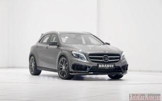 Доработанный Mercedes-Benz GLA от ателье Brabus