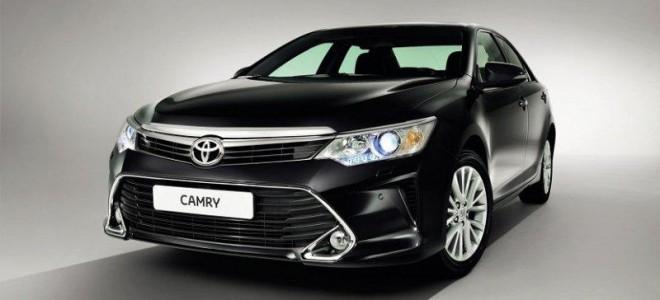 Обновленный седан Toyota Camry 2015 в Москве – обзор, цена для России