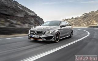 Универсал CLA Shooting Brake от Mercedes-Benz