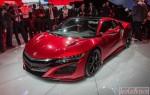 Официально представлены технические характеристики Acura NSX