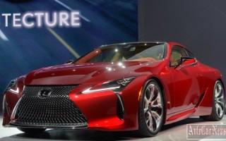 Серийная модель спортивного купе Lexus LC500 2016 – 2017