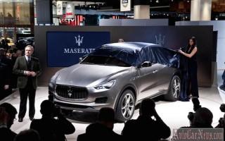 Maserati представила свой первый и в тоже время гибридный внедорожник