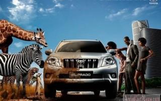Внедорожник Toyota Land Cruiser Prado 2014 обзор