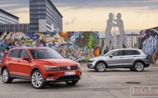 2016 Volkswagen Tiguan названы комплектации для рынка России