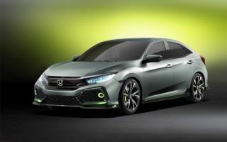 Появились первые фото хэтчбека Honda Civic в новом поколении
