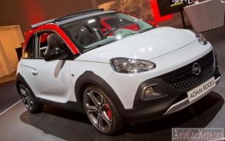 Компактный кроссовер Adam Rocks от Opel получил «заряженную»  версию
