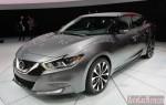 Нью-Йорк 2015 – новый Nissan Maxima стал 4-х дверным спорткаром