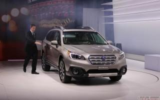 Нью-Йорк 2014 – new crossover Subaru Outback 2015