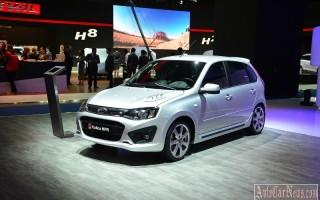 Первая товарная модель Lada Kalina NFR была продана за 800.000 руб