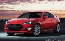 Обновленный Hyundai Genesis Coupe 2014