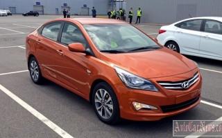 Новая модель 2015 Hyundai Solaris подробный тест-драйв