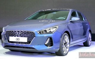 Модель третьего поколения Hyundai i30 представлена официально