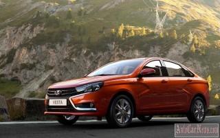 Объявлена официальная цена Lada Vesta – от 513.900 рублей