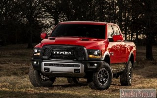 Детройт 2015: новый pickup Ram 1500 Rebel