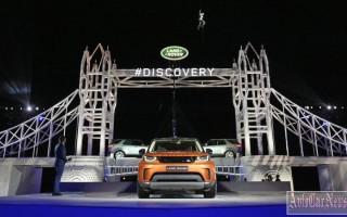 Париж 2016 — новая модель внедорожника Land Rover Discovery V
