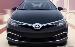 Первая информация об обновленной Toyota Corolla 2016