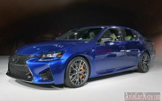 Детройт 2015: конкурент для BMW M5 – суперкар Lexus GS F