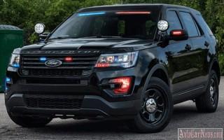 Компания Ford выпустила спец-версию полицейского внедорожника