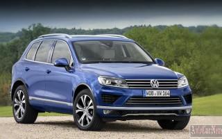 Цена обновленного Volkswagen Touareg стартует от 2млн. 192 тысяч рублей