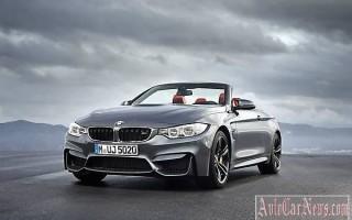 4 апреля дебютировала новая модель BMW M4 Convertible