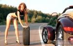 Советы новичкам – как поменять спущенное колесо и не попасть…