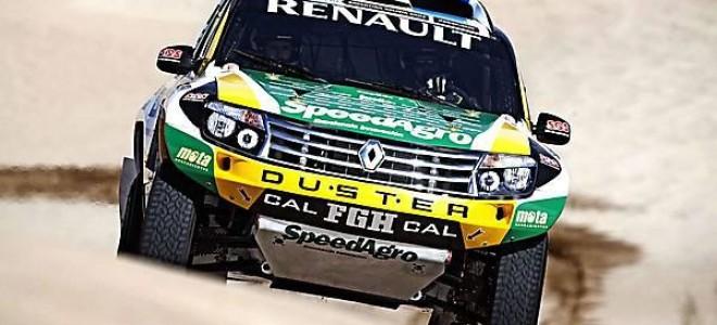 Представитель гонки «Дакар»