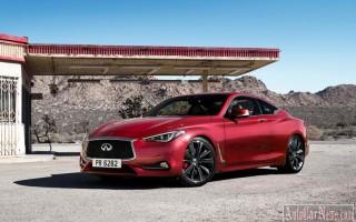 Брендом Infiniti озвучена цена модели Q60 Coupe 2017
