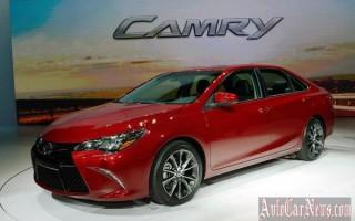 Обновленная Toyota Camry 2015 представлена в Нью-Йорке