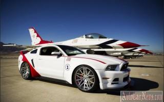 Эксклюзив — Ford Mustang GT U.S. Air Force 2013