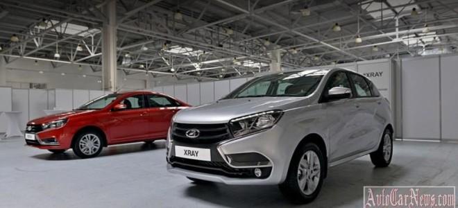 АвтоВАЗ собрался оснастить Lada XRAY и Vesta полным приводом