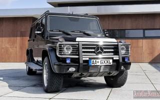 В 2017-м году появится новый Mercedes-Benz G-Class W463