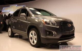 Нью-Йорк 2014 – new crossover Chevrolet Trax 2015